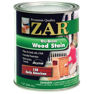 Zar 12812 1 Quart Early American Zar Oil Based Wood Stain