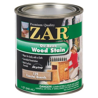 Zar 13912 1 Quart Coastal Boards Zar Oil Based Wood Stain