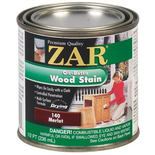 Zar 14006 1/2 Pint Merlot Zar Oil Based Wood Stain