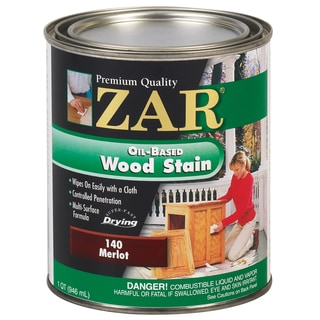 Zar 14012 1 Quart Merlot Zar Oil Based Wood Stain