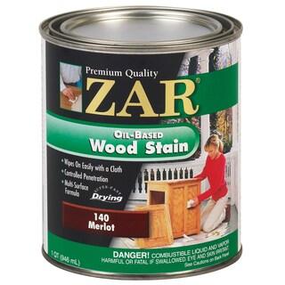 Zar 14012 1 Quart Merlot Zar Oil Based Wood Stain
