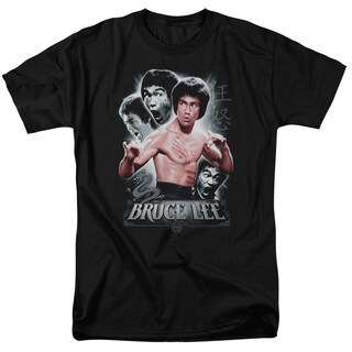 Bruce Lee/Inner Fury Short Sleeve Adult T-Shirt 18/1 in Black