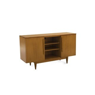 Saloom 2 Door with Open Middle Maple Flax Buffet
