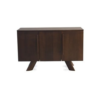 Saloom 3 door Maple Chocolate Buffet with K Base Foot