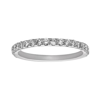 Noray Designs 14k White Gold 5/8ct TDW Diamond Wedding Band