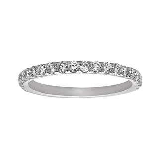 Noray Designs 14k White Gold 5/8ct TDW Diamond Wedding Band (G-H, SI1-SI2)