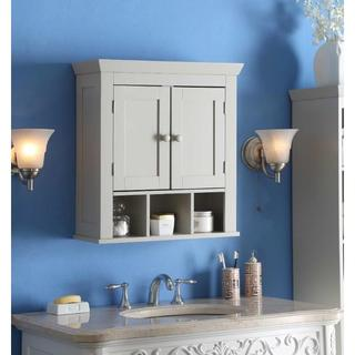 Rancho Grey Wood Wall Cabinet
