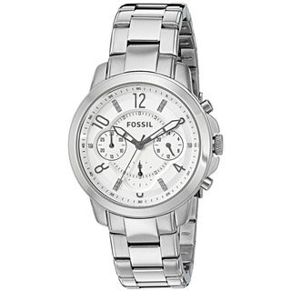 Fossil Women's ES4036 'Gwynn' Chronograph Crystal Stainless Steel Watch