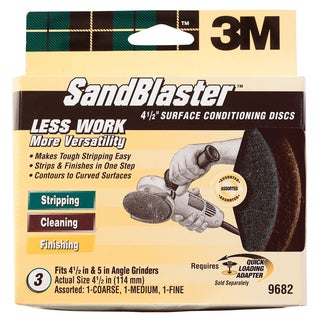 3M 9682 SandBlaster Surface Conditioning Discs