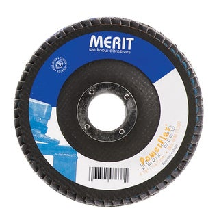 """Norton 19978 4-1/2"""" 40 Grit Powerflex Flap Disc"""