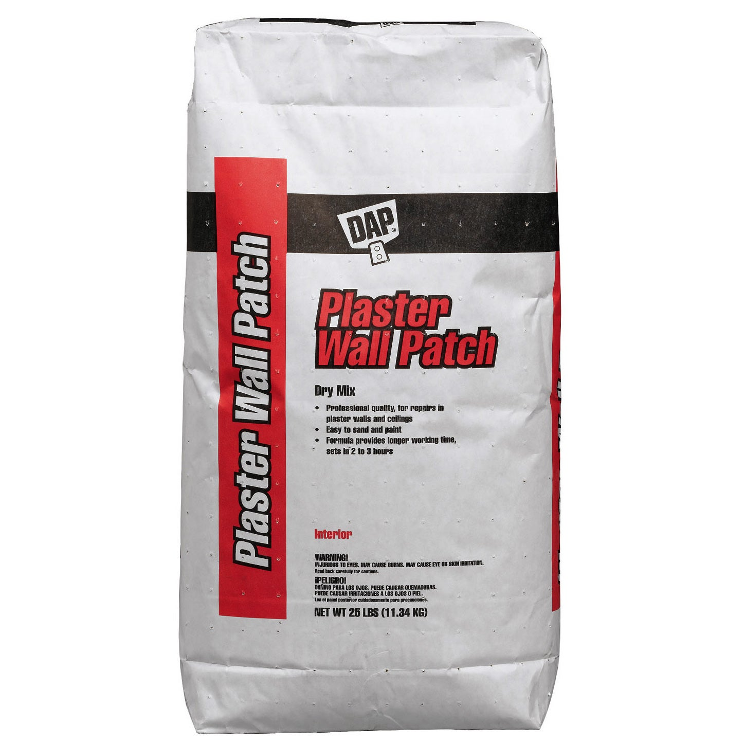 DAP 10304 25 Lb Plaster Wall Patch Exterior (Spackling & ...