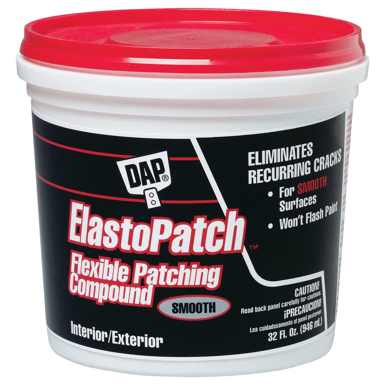 Dap 12278 1 Quart White Elastomeric Patch & Caulking Comp...