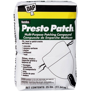 Dap 58552 25 Lb Presto Patch Multi Purpose Patching Compound