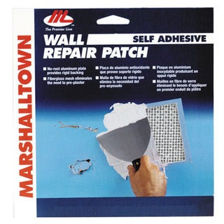 "Marshalltown DP4 4"" X 4"" Wall Repair Patch Kit"
