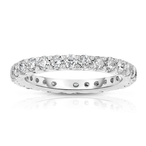 Noray Designs 14k White Gold 1 1/2ct TDW Diamond Wedding Band