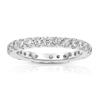 Noray Designs 14k White Gold 1 1/2ct TDW Diamond Wedding Band