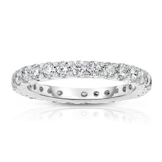 Noray Designs 14k White Gold 1 1/2ct TDW Diamond Wedding Band (G-H, SI1-SI2)