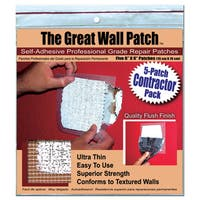 "The Great Wall Patch GWPC6P 5-count 6"" Wall Patch"