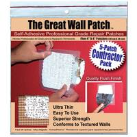 """The Great Wall Patch GWPC4P 5-count 4"""" Wall Patch"""