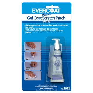 Evercoat 105652 .5 Oz White Marine Gel Coat Scratch Patch