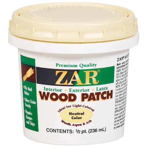 Zar 30906 1/2 Pint Neutral Zar Wood Patch