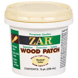 Zar 30906 1/2 Pint Neutral Zar Wood Patch