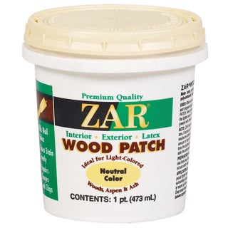 Zar 30911 1 Pint Neutral Zar Wood Patch