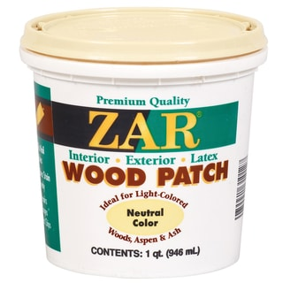 Zar 30912 1 Quart Neutral Zar Wood Patch
