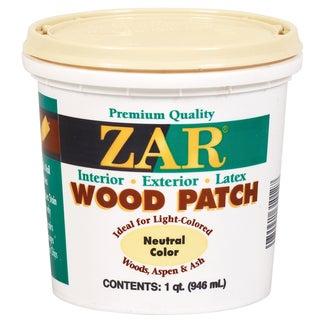 Zar 30912 1 Quart Neutral Zar Wood Patch