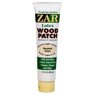 Zar 30941 3 Oz Neutral Latex Wood Patch