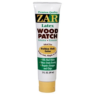 Zar 31441 3 Oz Golden Oak Latex Wood Patch