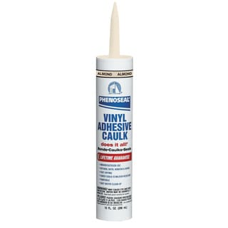 Dap - Phenoseal 02102 Almond Phenoseal Does It All! Vinyl Adhesive Caulk