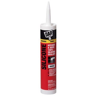 Dap 08640 Bathroom Silicone Rubber Caulk