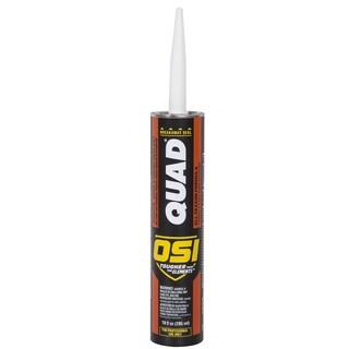 OSI Sealants 827837 10 Oz Clear QUAD ProSeries Caulk