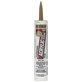 Polyseamseal 1507594 10 Oz Cedar Polyseamseal Acrylic Caulk With Silicone