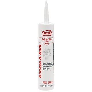 M-D GE14209 Tub & Tile Latex Caulk