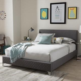 Baxton Studio Eutychos Modern Storage Platform Bed
