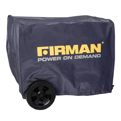 Firman Black Nylon Medium 3,000/4,000-watt Generator Cover