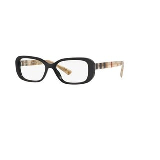 Burberry BE2228 3600 Black Pillow Eyeglasses with 53mm Lens