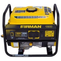 FIRMAN Power Equipment P01201 Gas Powered 1500/1200 Watt (Performance Series) Extended Run Time Portable Generator