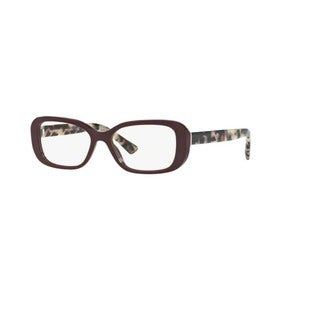 Burberry BE2228 3602 Bordeaux Pillow Eyeglasses with 53mm Lens