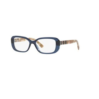 Burberry BE2228 3603 Blue Pillow Eyeglasses with 51mm Lens