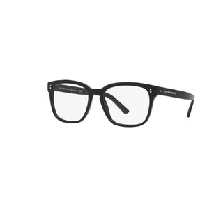 Burberry BE2225 3001 Black Plastic Square Eyeglasses with 53mm Lens