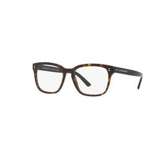 Burberry BE2225 3397 Dark Havana Plastic Square Eyeglasses with 53mm Lens