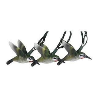 River's Edge Plastic 10-light Hummingbird Set