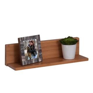 Bamboo L Shelf