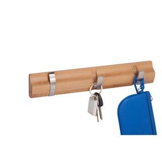 3-hook wall hanger, bamboo