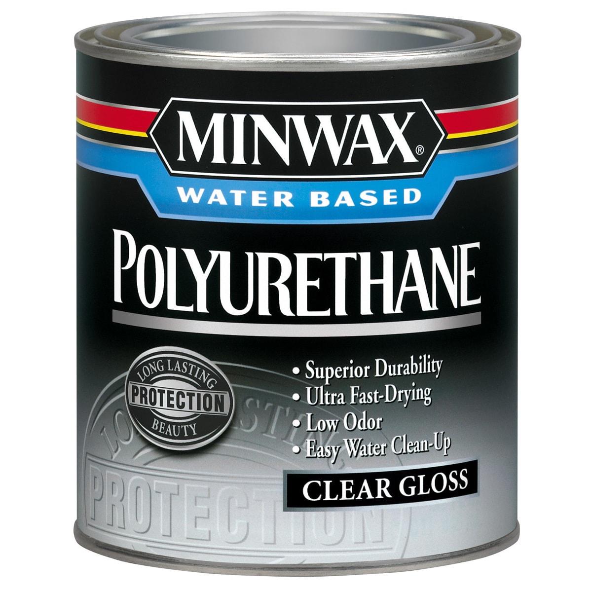 Minwax 23015 1/2 Pint Gloss Minwax Water Based Polyuretha...