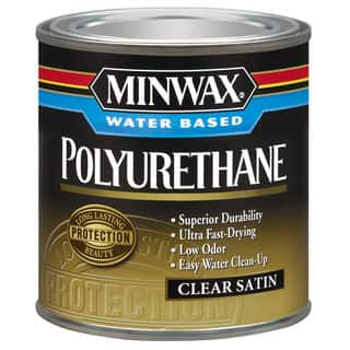 Minwax 23025 1/2 Pint Minwax Water Based Polyurethane|https://ak1.ostkcdn.com/images/products/12428616/P19245258.jpg?impolicy=medium