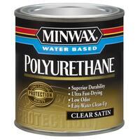 Minwax 23025 1/2 Pint Minwax Water Based Polyurethane